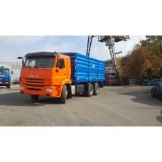 Бортовой автомобиль зерновоз Камаз 65115, объем 27 куб.м