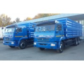 Бортовой автомобиль зерновоз Камаз 65117, объем 35 куб.м